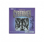 Origins of the Cybermen,(CD COVER ONLY) signed by David Banks 1332